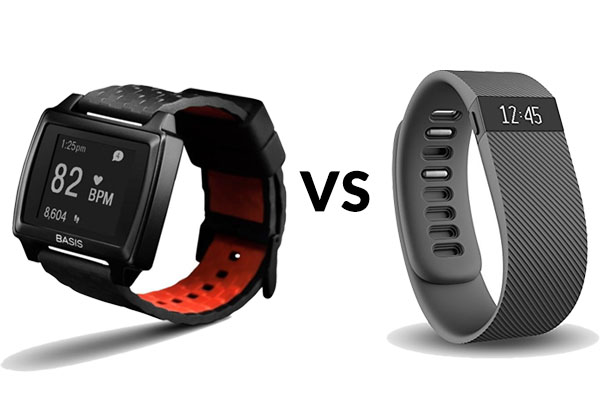 A Comparison of the Basis Peak vs Fitbit Charge - Which is Better