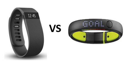 the fitbit charge vs nike fuelband se - battle of the fitness bands