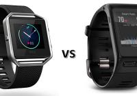fitbit blaze vs garmin vivoactive hr: which fitness tracker will you love more?