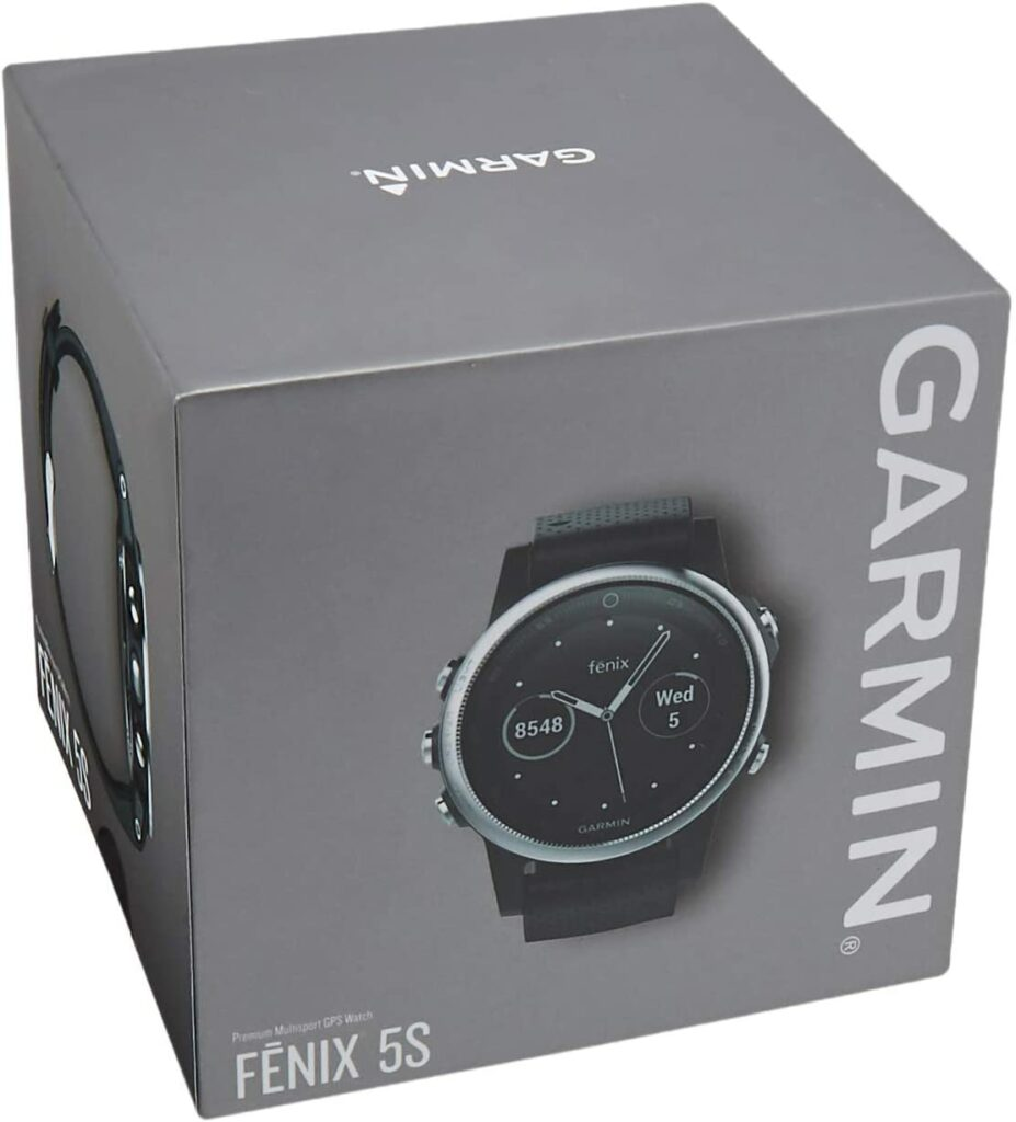 Garmin Fenix 5 packed