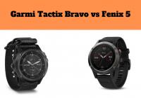 Garmi Tactix Bravo vs Fenix 5