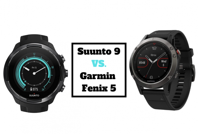 Suunto 9 vs. Garmin Fenix 5